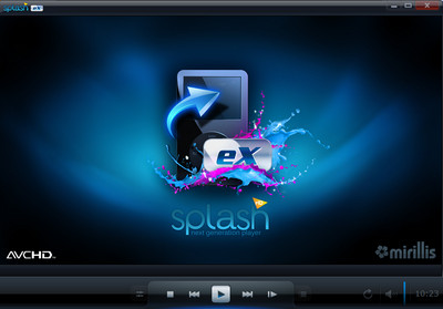 BDb09147 برنامج تشغيل ملفات الفيديو Splash PRO   HD video player